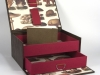 Faux Leather Box w Drawer Open 2