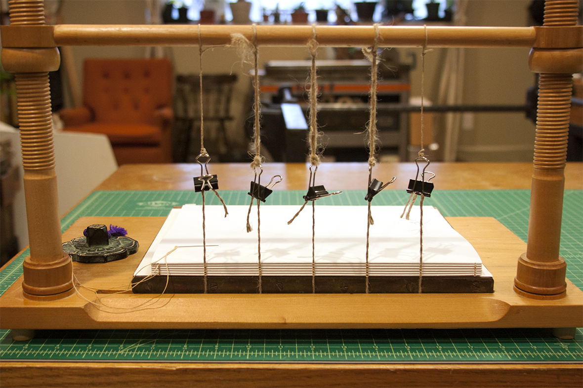 Sewing on a Frame