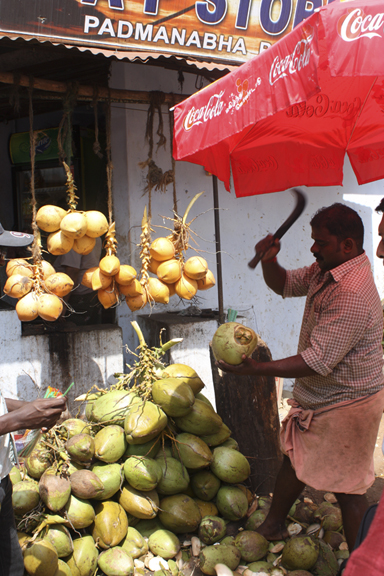 tender coconut stand